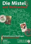 """Plakat """"Die Mistel und Weihnachten"""""""