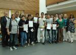 Die Teilnehmer des jes-Projektes