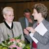 Barbara Bosch verabschiedet Margret Grimm