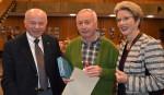 v.l.n.r.: Paul Mohl, Werner Glomb und Oberbürgermeisterin Barbara Bosch