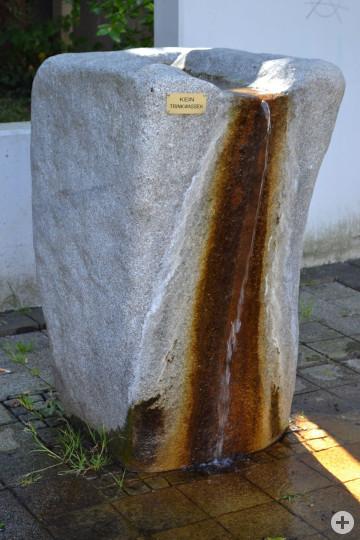 Brunnen Ortsmitte