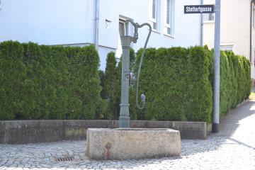 Brunnen Hopfengartenstraße