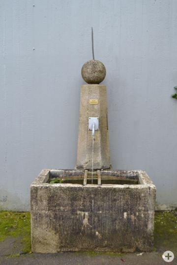 Wasserstation Sonnenbau