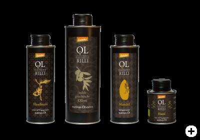 Öle der Ölmanufaktur Rilli