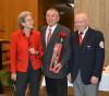 Oberbürgermneisterin Barbara Bosch, Rolf Kirsch und Paul Mohl