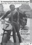Ausstellung Hans Baltisberger - Plakat