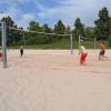 Werden gerne genutzt: Die drei Beachvolleyballfelder im Markwasen