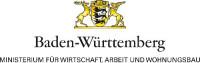 Logo Ministerium für Wirtschaft, Arbeit und Wohnungsbau Baden‐Württemberg