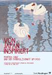 Ausstellungsplakat - Von Japan isnpiriert. Martha Cunz und der Farbholzschnitt um 1900