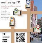 einkaufen, genießen, entdecken in Reutlingen mit der smaRT city App
