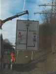 Neue Schilder weisen Brummi-Fahrern den richtigen Weg