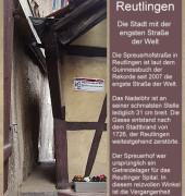 04 Gruß aus Reutlingen - Die engste Straße der Welt