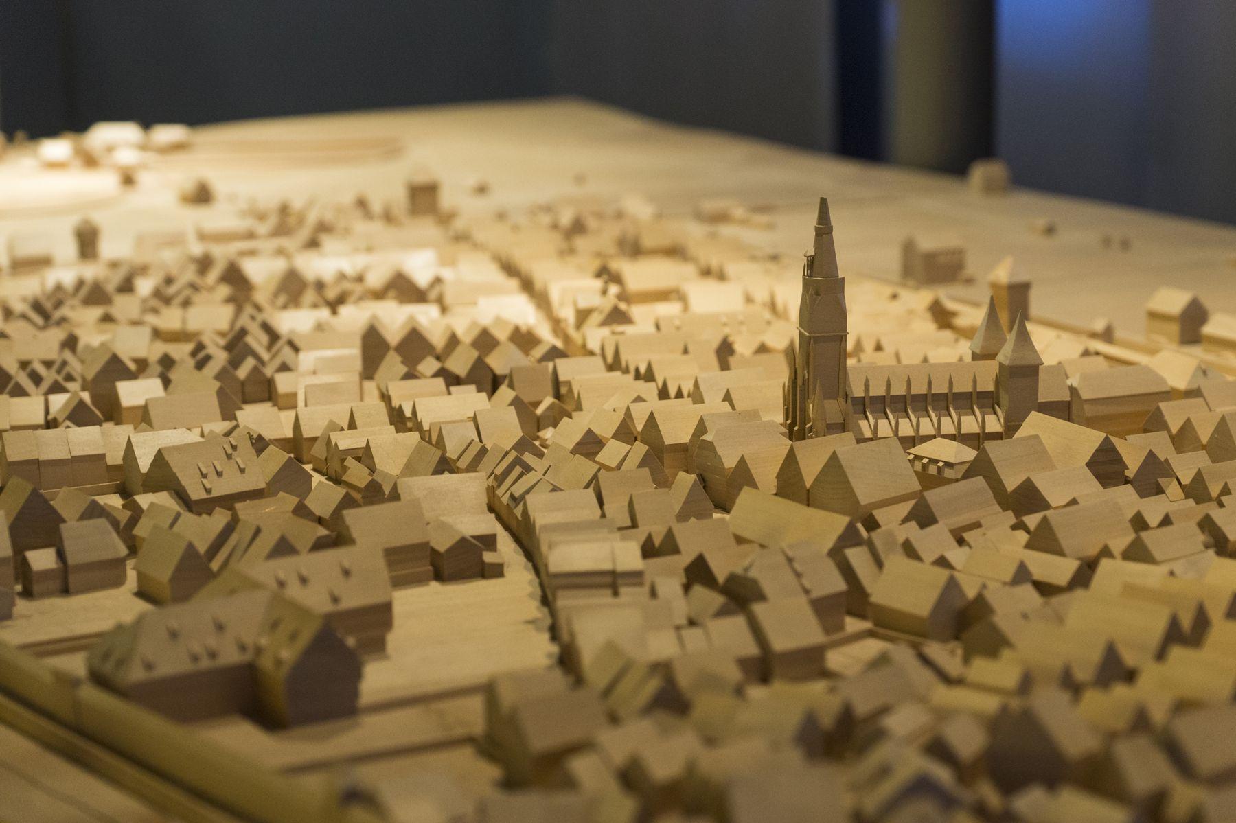 Heimatmuseum Reutlingen, Stadtmodell, Fotografin: Tina Kühnlein