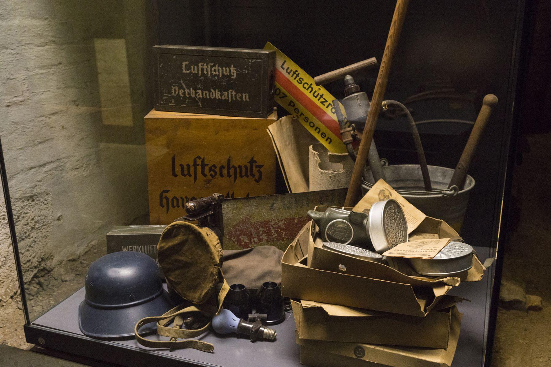 Heimatmuseum Reutlingen, ehemaliger Luftschutzkeller, Fotografin: Tina Kühnlein
