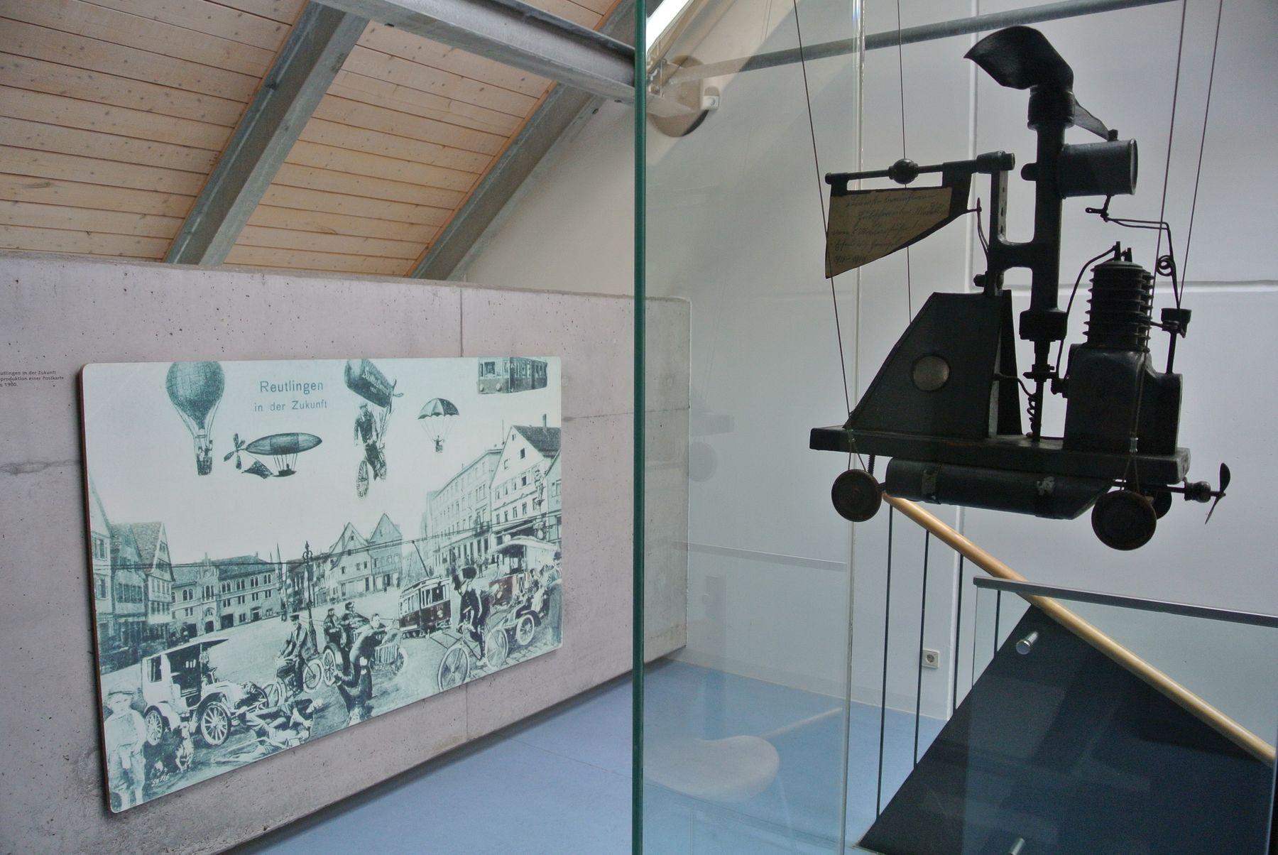 Heimatmuseum Reutlingen, Eingangsbereich zum 3. Obergeschoss