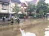 Starkregen über der Stadt Reutlingen am 11.06.2018