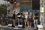 """Die Band """"Macaloosa"""" aus der Reutlinger Partnerstadt Aarau"""