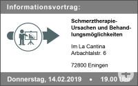 Vortrag Schmerztherapie