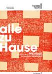 Ausstellungsplakat - alle zu Hause Neuerwerbungen von Franz Marc bis Daniel Richter