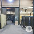 Halle im Bauteil 2