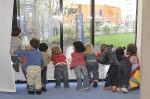 Die Kinderbetreuung steht weiterhin ganz oben auf der städtischen Agenda.