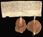 750 Jahre Betzingen - Originalurkunde aus dem Jahr 1258