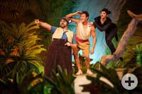 Auf Mogli und seine Freunde warten viele Abenteuer im Dschungel.