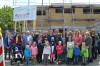 Zahlreiche große und kleine Gäste konnte Erste Bürgermeisterin Ulrike Hotz beim Richtfest begrüßen