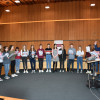 """Workshop-Teilnehmer """"Musik plus"""" beim Singen"""
