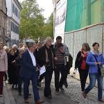 Oberbürgermeister Thomas Keck mit Besuchern in der Oberamteistraße