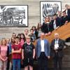 Breslauer Austauschschüler zu Gast im Rathaus