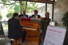 OB Thomas Keck und das Netzwerk Kultur Reutlingen e.V. stellen das Street Piano vor