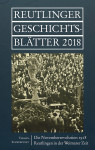 Reutlinger Geschichtsblätter 2018_Umschlag