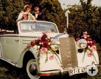 Hochzeitsauto 1980er