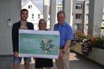 Freuen sich auf den 31. August: Linus Renz, Kati Trinkner und Thomas Keck (v.l.)