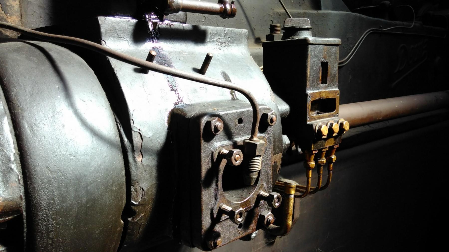 Industriemagazin, Detail Dieselantrieb