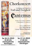 Chorkonzert Cantemus 2019.11