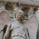 Lächelnder Engel der Kathedrale von Reims