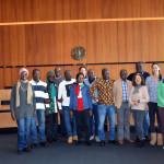 Empfang einer Lehrergruppe aus Bouaké