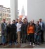 Studentengruppe der Valparaiso University, Indiana, im Reutlinger Rathaus
