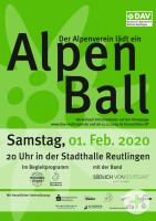 Plakat Alpenball 2020