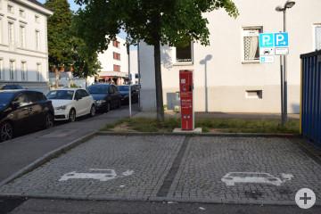 Stromtankstelle Friedrichsplatz-Gartenstraße
