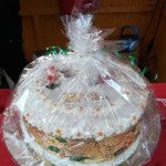 English Christmas Cake wog 3,346 Kilogramm