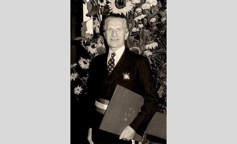 Bürgermeister a. D. Paul Pillet, Roanne/Loire