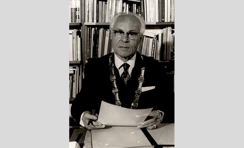 Oberbürgermeister a. D. Oskar Kalbfell