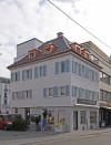 Zu sehen ist das Gebäude an der Ecke Metzger- bzw. Bollwerkstraße.