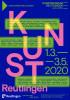 Ausstellungsplakat Kunst Reutlingen 2020
