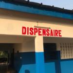 Drei Fotos von der renovierten Entbindungsklinik in Bouaké