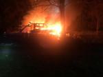 Brand Gartenhäßer in Pliezhausen Bildquelle: Einsatzleiter der Feuerwehr Reutlingen