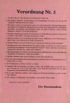 Verordnung Nr. 2 der französischen Militärregierung vom 22.4.1945